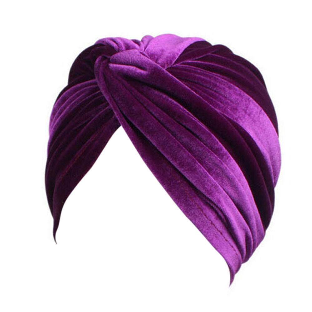 Wanita Kanker Topi Chemo Beanie Syal Selendang Kepala Turban Cap  Fashionting-Intl 1edad67edf