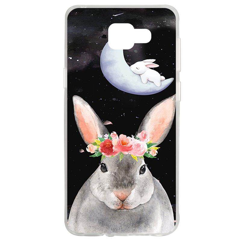 Flower Rabbit TPU Soft Silicon Phone Case Cover For Samsung Galaxy A5 2016 A510