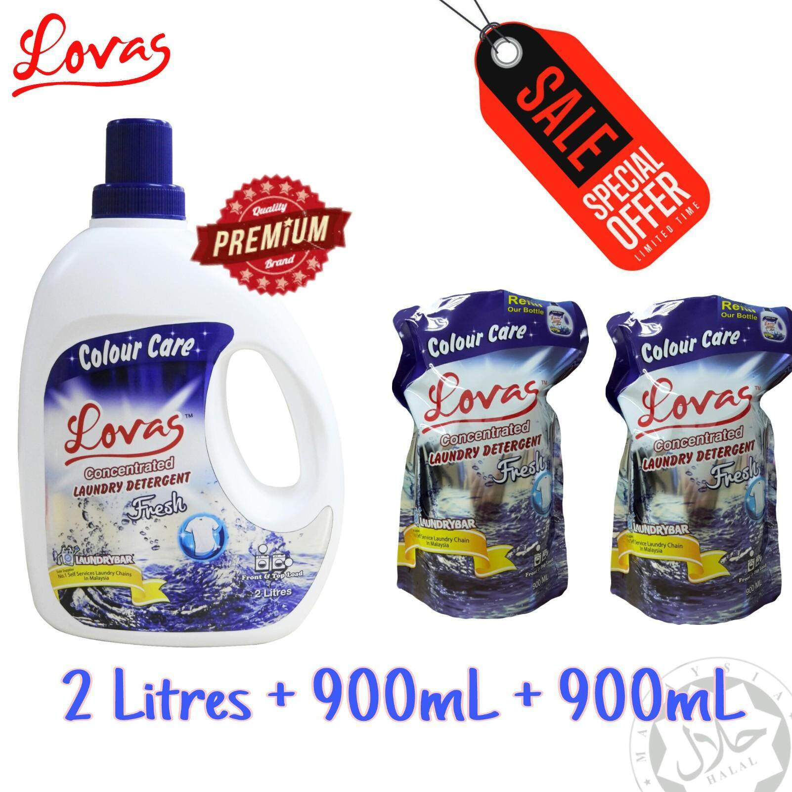 Value Pack - LOVAS Concentrated Laundry Detergent [Fresh]