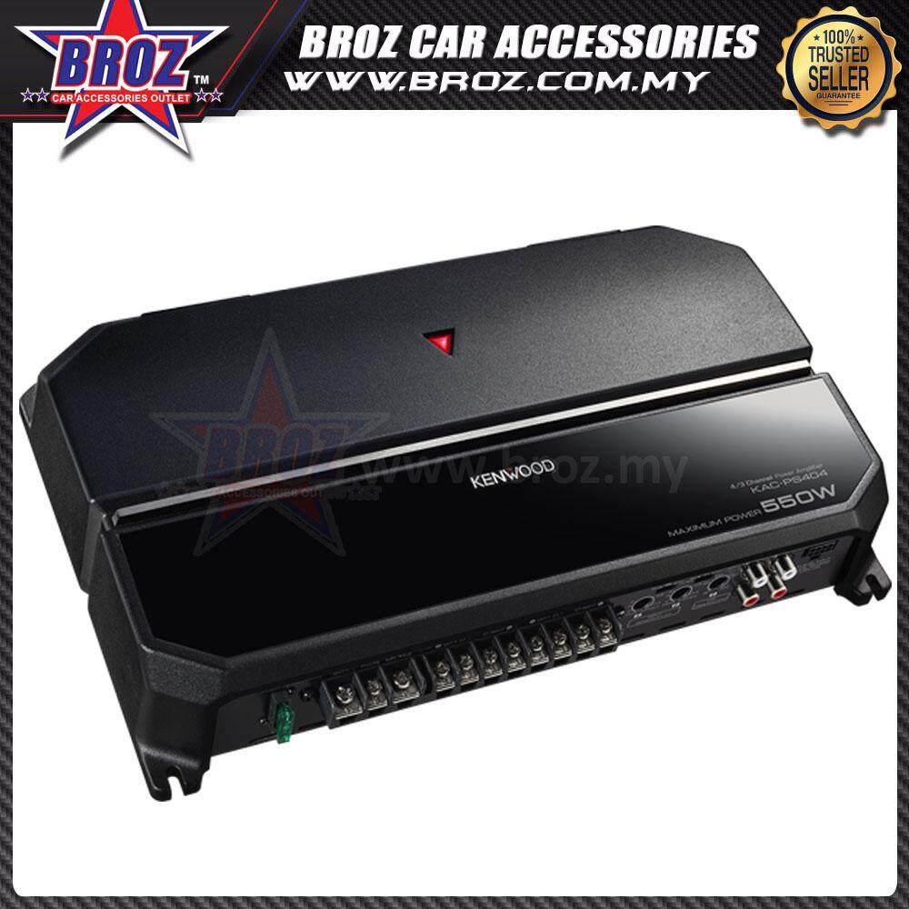 Broz Kenwood KAC-PS404 4/3/2 Channel Bridgeable Performance Series Power Amplifier