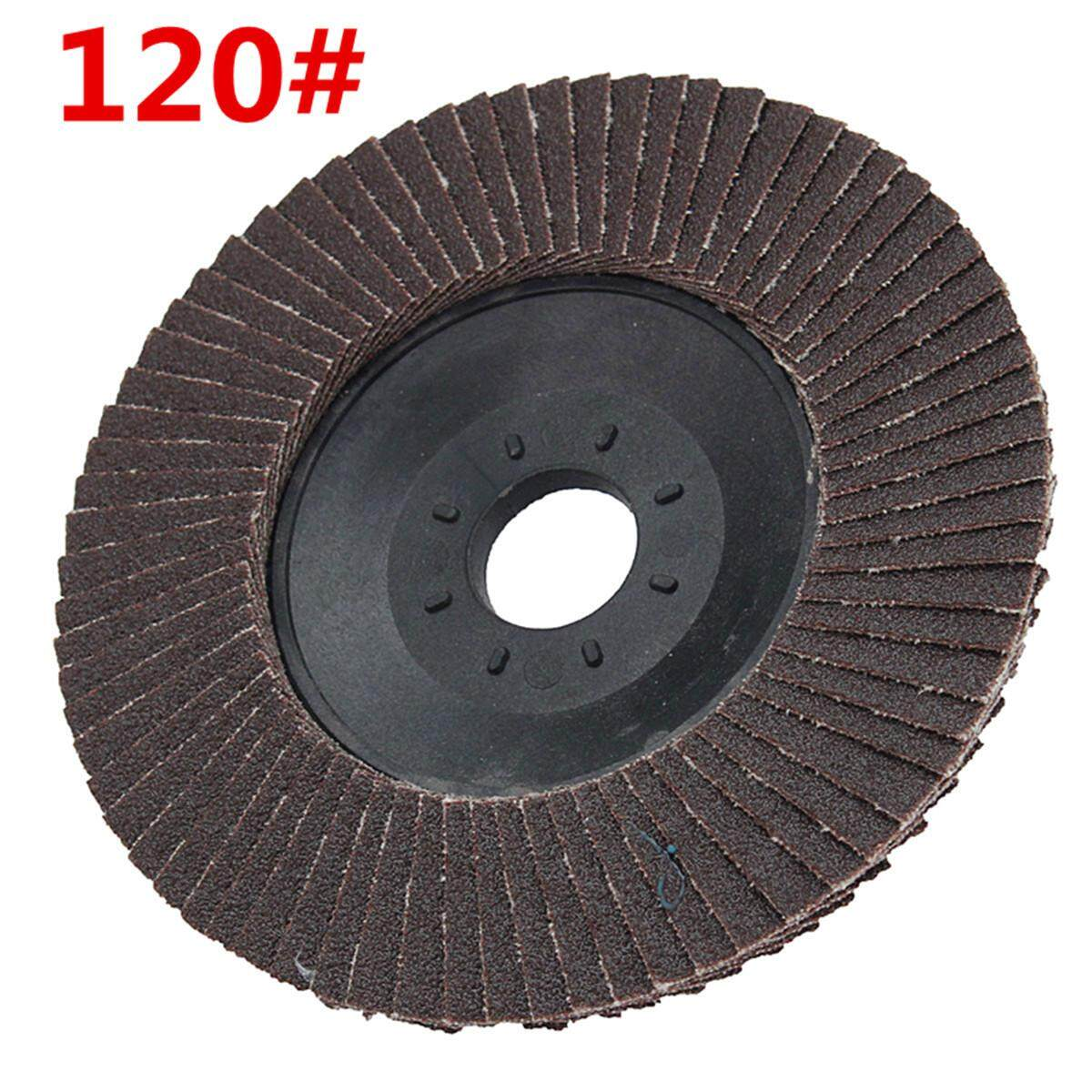 1Pcs 4Inch 100mm 120 240 320 Grit Angle Grinder Flap Disc Sanding Wheel Hole Rotary Tool