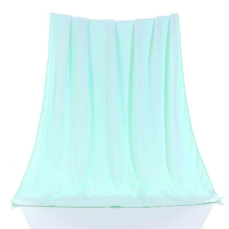 New Superfine Nano Plain Baby Bath Towel - intl