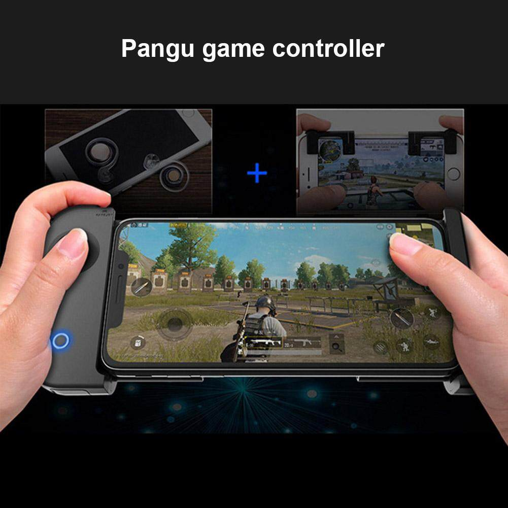 YBC PUBG Rules of Survival Wireless Bluetooth Gaming Controller for iPhone Android Gamepad Triggers for