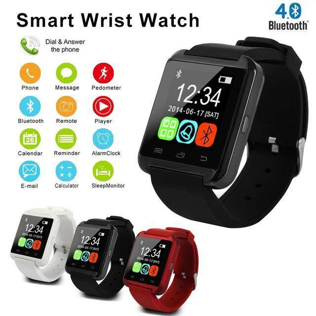 Dotec Smartwatch Bluetooth Smart Watch U8 For Iphone Ios Android Smart Phone Wear Clock Wearable Device Smartwach By Dotec.