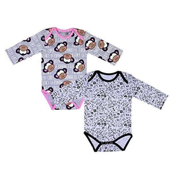 b6e3d6cb3935 MYR 141. Sofie   Sam Organic Cotton 2 Pack Combo Full Sleeves Baby Bodysuit  Onesie Romper For Age ...