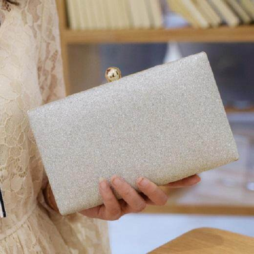 [PRE-ORDER] Women Sequined Diamond Clutch Evening Dinner Handbag