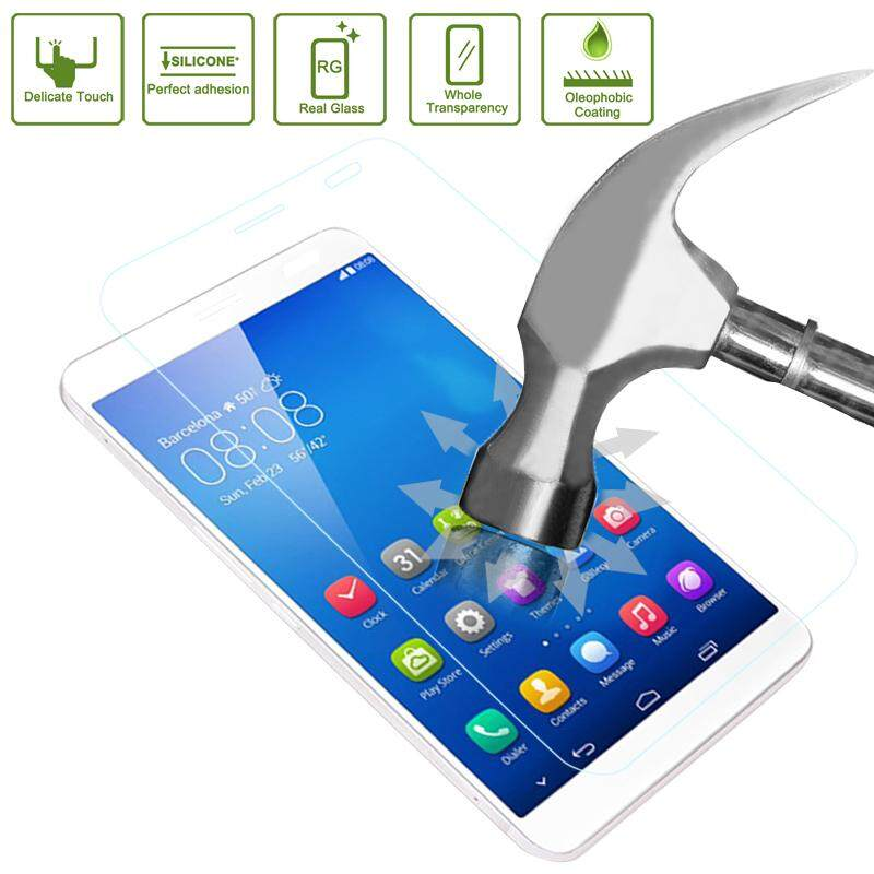 0.4mm 9H+ Surface Hardness 2.5D Explosion-proof Tempered Glass Film for Huawei MediaPad X1 / X2 - intl