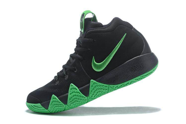 Kyrie Irving 4 NBA Official Shoes 2018 What The Kyrie Comfortable Breathable Authentic BASKETBALL SHOES Kyrie Irving IV Four Men's Sneakers Boston Celtics #11 Adult Size:40-45 Black Red - intl