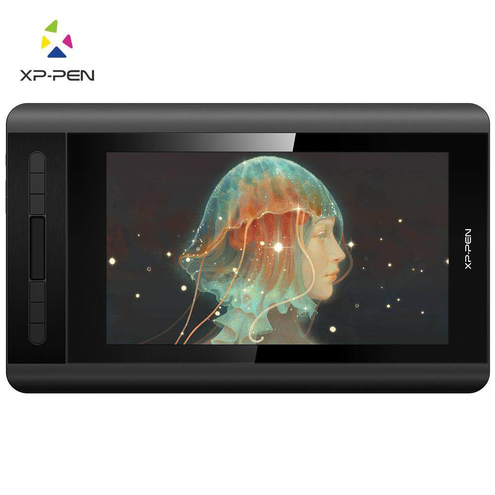 XP-PEN Artist 12 1920 X 1080 HD IPS Digital Graphics Drawing Tablet Pen Display Monitor with Shortcut Keys and Touch Pad(+P06)