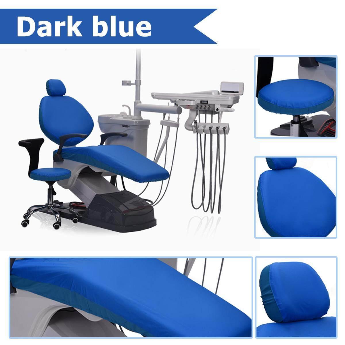 Dental Unit Sarung Kain Kursi Dokter Gigi Pelindung Sleeves Bisa Dicuci 1 Set (4 Pcs/set)-Internasional