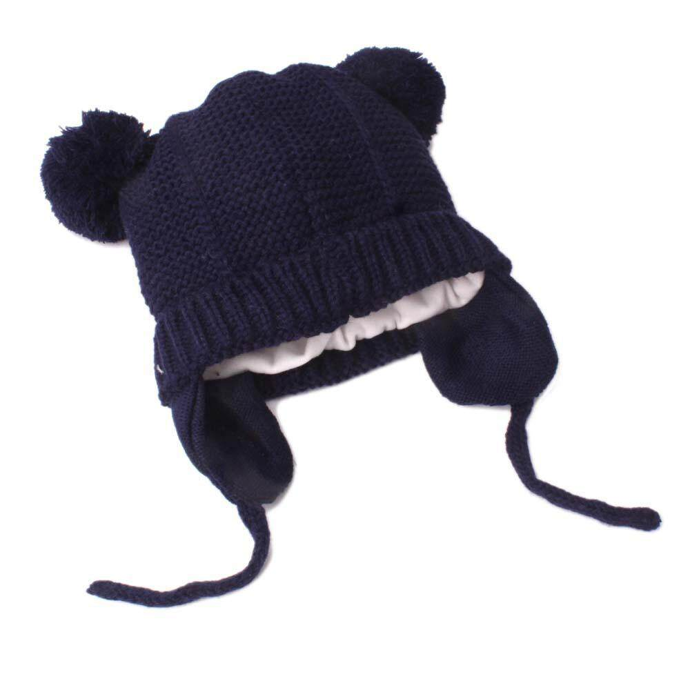 CNB2C Anak Balita Lucu Gadis dan Bayi Laki-laki Sulaman Hangat Musim Dingin  Topi Kupluk 848c48e085