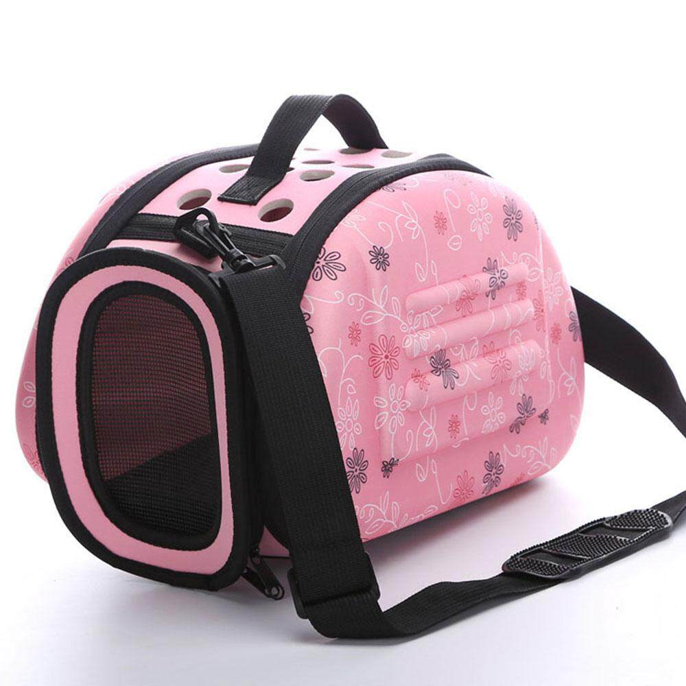 Nicetoempty Pet Eva Travel Carrier Shoulder Folding Portable Breathable Outdoor Bag (s/m/l) By Nicetoempty.