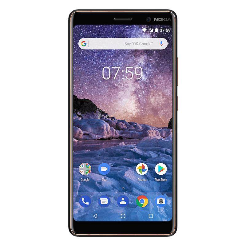 Nokia 7 Plus 6inch FHD 4G 64G 13MP 12MP 16MP Camera Dual Sim