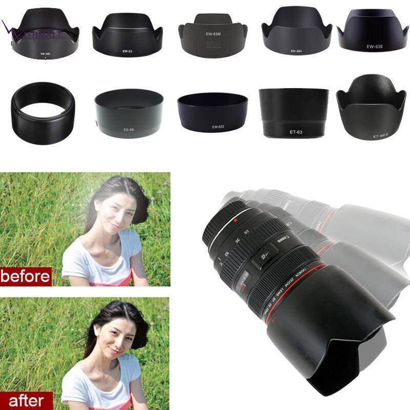 Wishmall Canon ES-68II EF 50 Mm F/1.8 STM Lens Cover Lens Hood