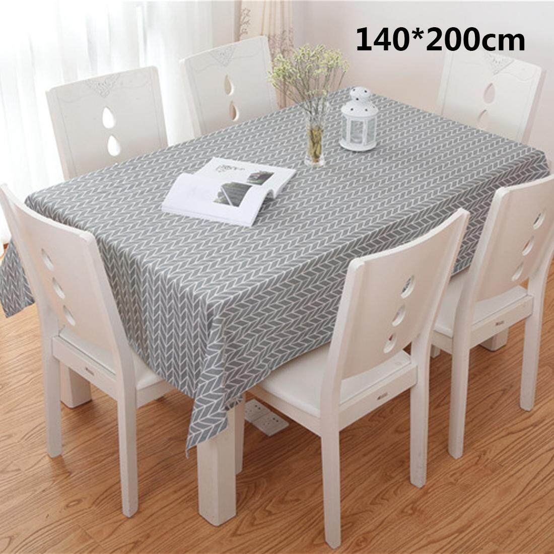 da04450cdd9 Cotton Heat Resistant Waterproof Dining Table Cloths Home Decor 140 200cm -  intl