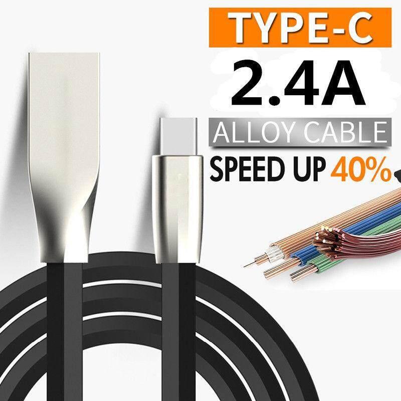Harga Spesial Sesuai untuk Android Tipe C Zinc Alloy USB Tipe C USB C Data Sync Kabel Pengisi Daya untuk MacBook/Lumia 950 950XL /OnePlus 2 3 5/Xiaomi Mi4C MI5/Z1/HTC10