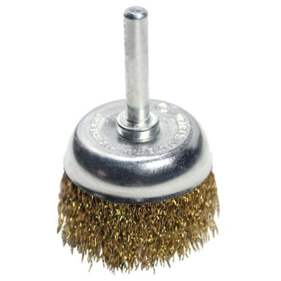 REMAX CRIMPED WIRE SHAFT-MOUNTED CUP BRUSH (MADE IN TAIWAN)
