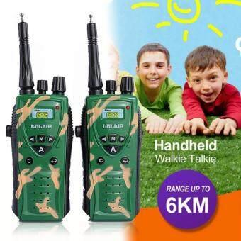 ราคาถูกที่สุด 2PCS Intercom Electronic Children Toy Walkie Talkie Child Outdoor Interphone shock sale - มีเพียง ฿409.96