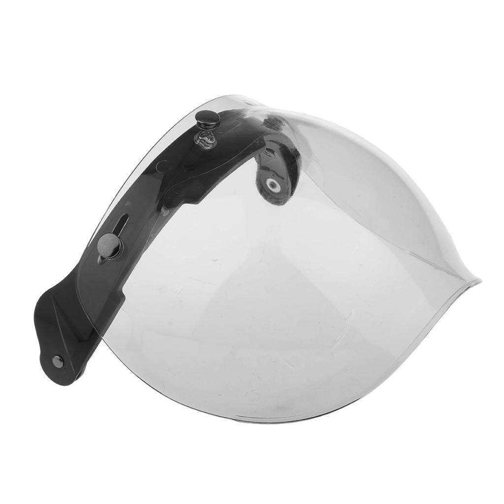 Rp 146.000. Miracle Bersinar Motor 3 Tempatkan Helm Kedok Perisai Lipat Hingga Down Lensa untuk Harley Bening-InternasionalIDR146000