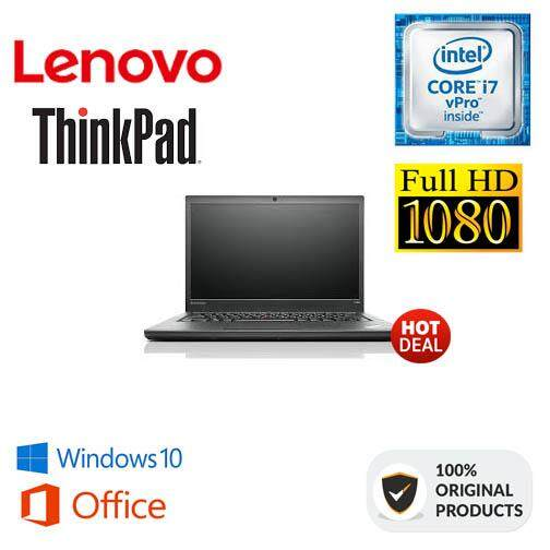 LENOVO THINKPAD T440s (FHD) CORE I7-VPRO | 8GB | 500GB | ULTRABOOK [ORIGINAL REMANUFACTURED] Malaysia