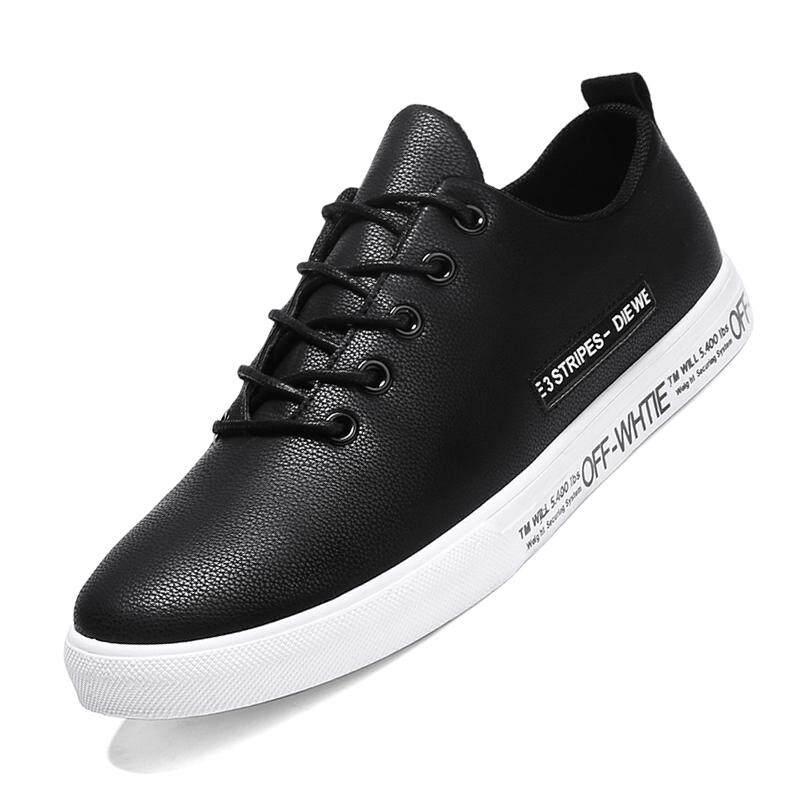 Review of Kulit Pria Sepatu Kasual Mewah Sepatu Skateboard-Intl anggaran  terbaik - Hanya Rp184.149 37f9f231e6