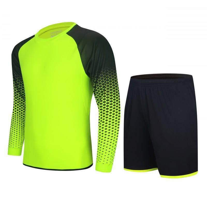 cdf8d2631 Customize Thin Summer Sports Goalkeeper Jersey Football Soccer Shirts  Shorts Goal Jerseys