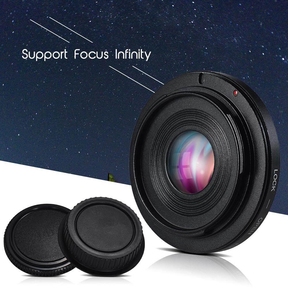FD-EOS Lensa Adaptor Dudukan Lensa Kamera Cincin Adapter dengan Kaca Optik Fokus Tak Terhingga Lensa FD untuk EOS EF Gunung Tubuh untuk Canon 450D 50D 5D 5D2 500D 550D 600D 650D 6D 70D 700D-Intl