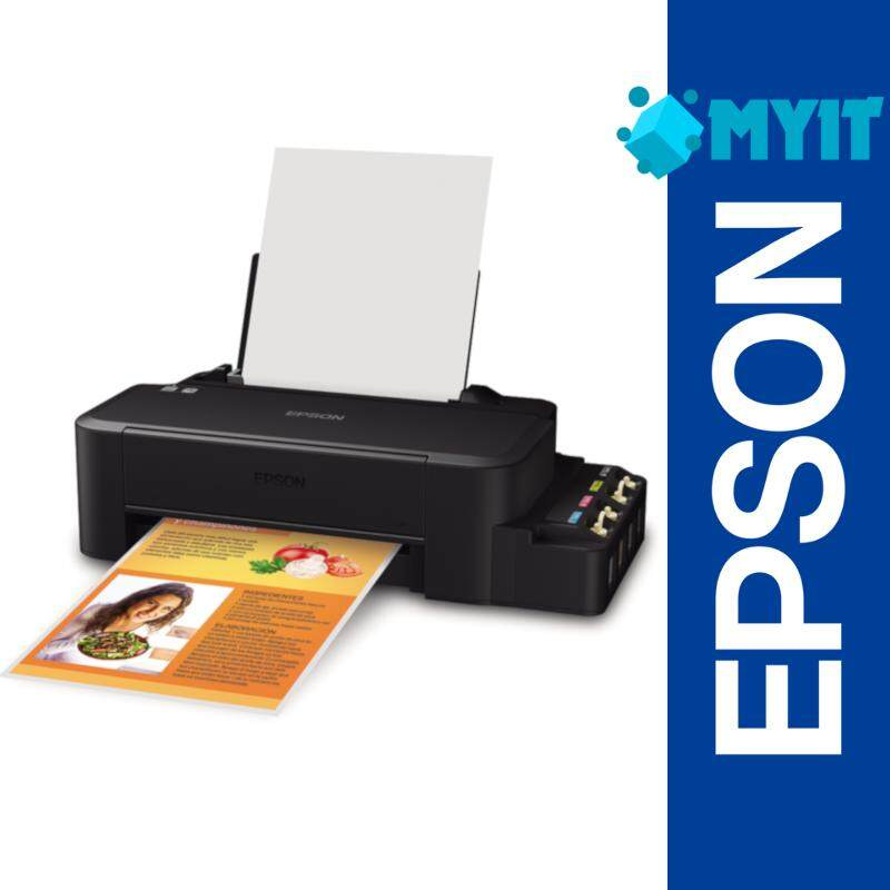 Epson L120 A4 Printing Compact Sized Inkjet Printer with Integrated Ink Tank System (461 x 215 x 130 mm, 2 Years Warranty)