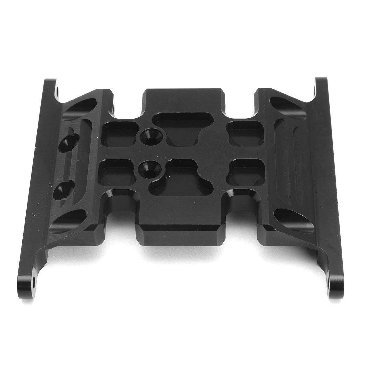1/10 Aluminum Black Center Skid Plate Black Fit For Axial SCX10 RC Cars Crawler