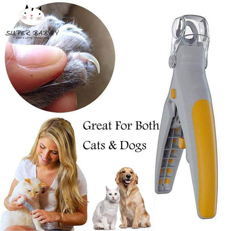 Sby Pet Products Pet Nail Trimmer Cat Dog Nails Clippers Grinders Scissors With Led Light By Super Babyyy.