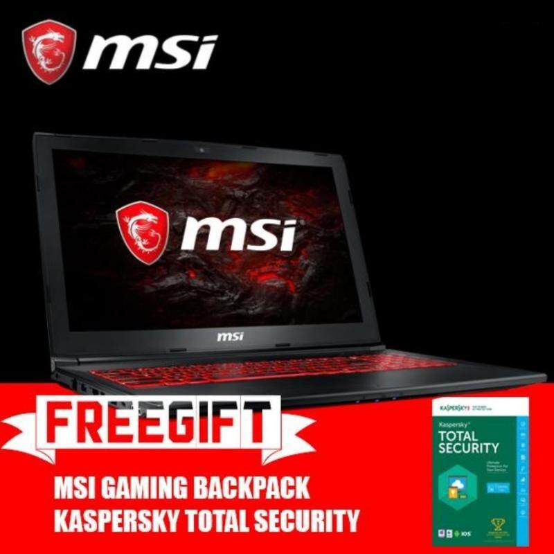 MSI GL62MVR 7RFX 1057MY (GTX1060 6GB GDDR5)+BACKPACK+KAPERSKY TOTAL SECURITY Malaysia
