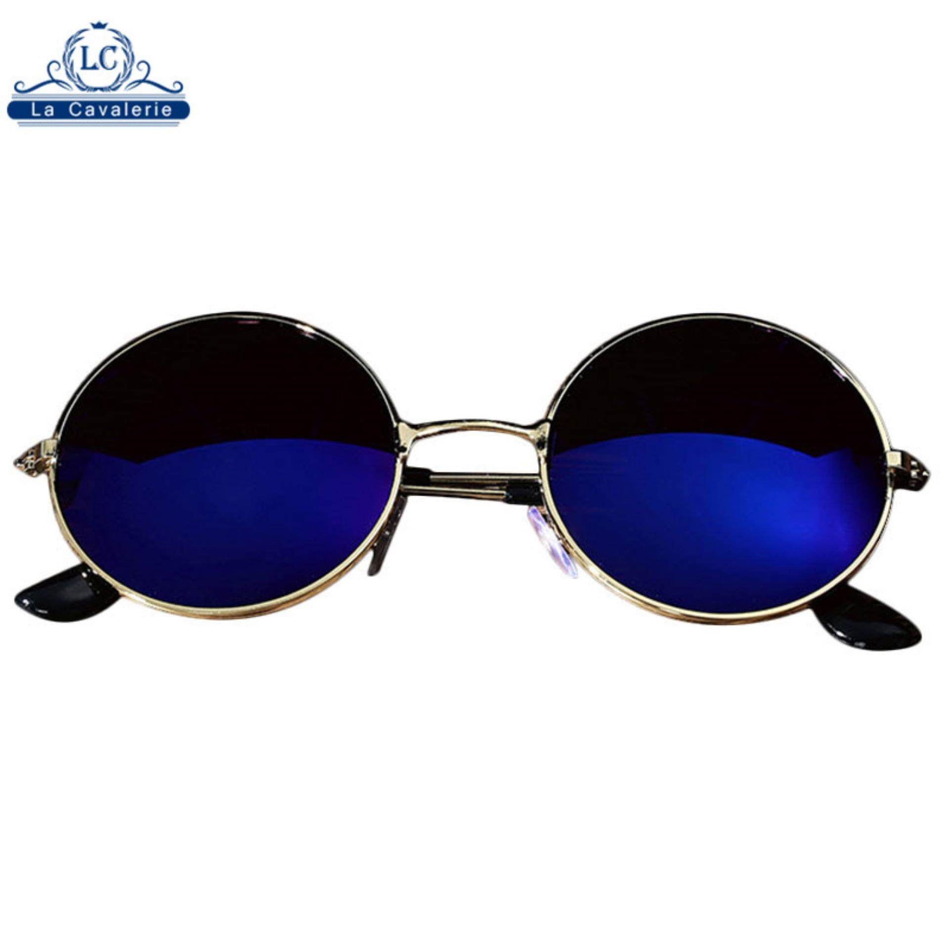 af817a4f0695 Cool and fashionable Men Women Retro Vintage Round Mirrored Sunglasses  Eyewear Outdoor Glasses