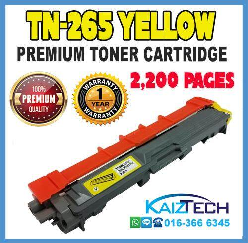 Brother TN-261 / TN-265 / TN261 Black / TN265 Cyan / TN265 Magenta / TN265 Yellow High Yield Compatible Laser Toner Cartridge For Brother DCP9020cdw MFC9130cw MFC9140cdn MFC9330cdw MFC9340cdw HL3140cw HL3150cdn HL3150cdw Printer