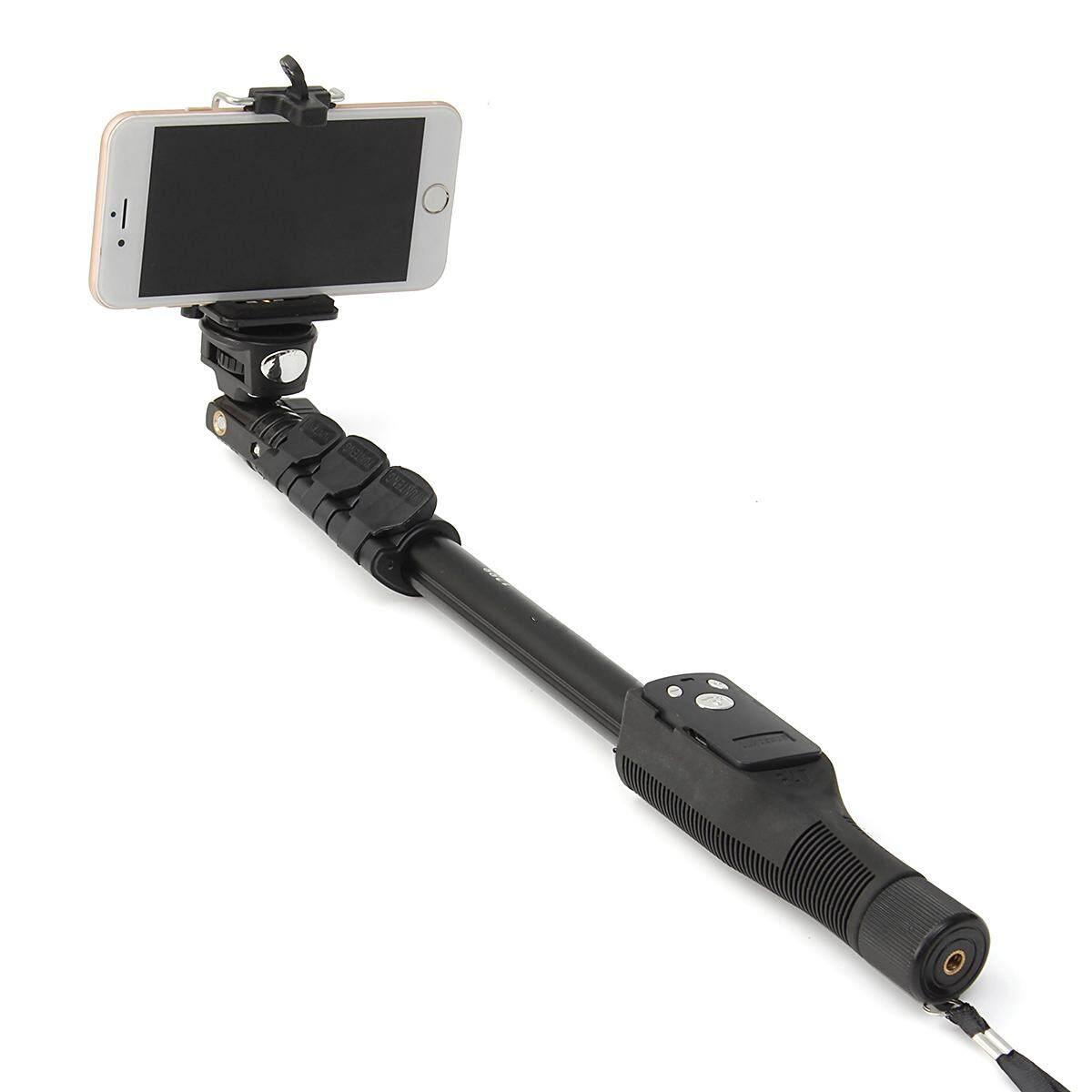 Untuk GoPro DSLR Kamera IOS Android Ponsel Selfie Tongkat Yunteng 1288 Bluetooth Dapat Diperpanjang Handheld Yt-1288 Tripod Monopod Vs 188