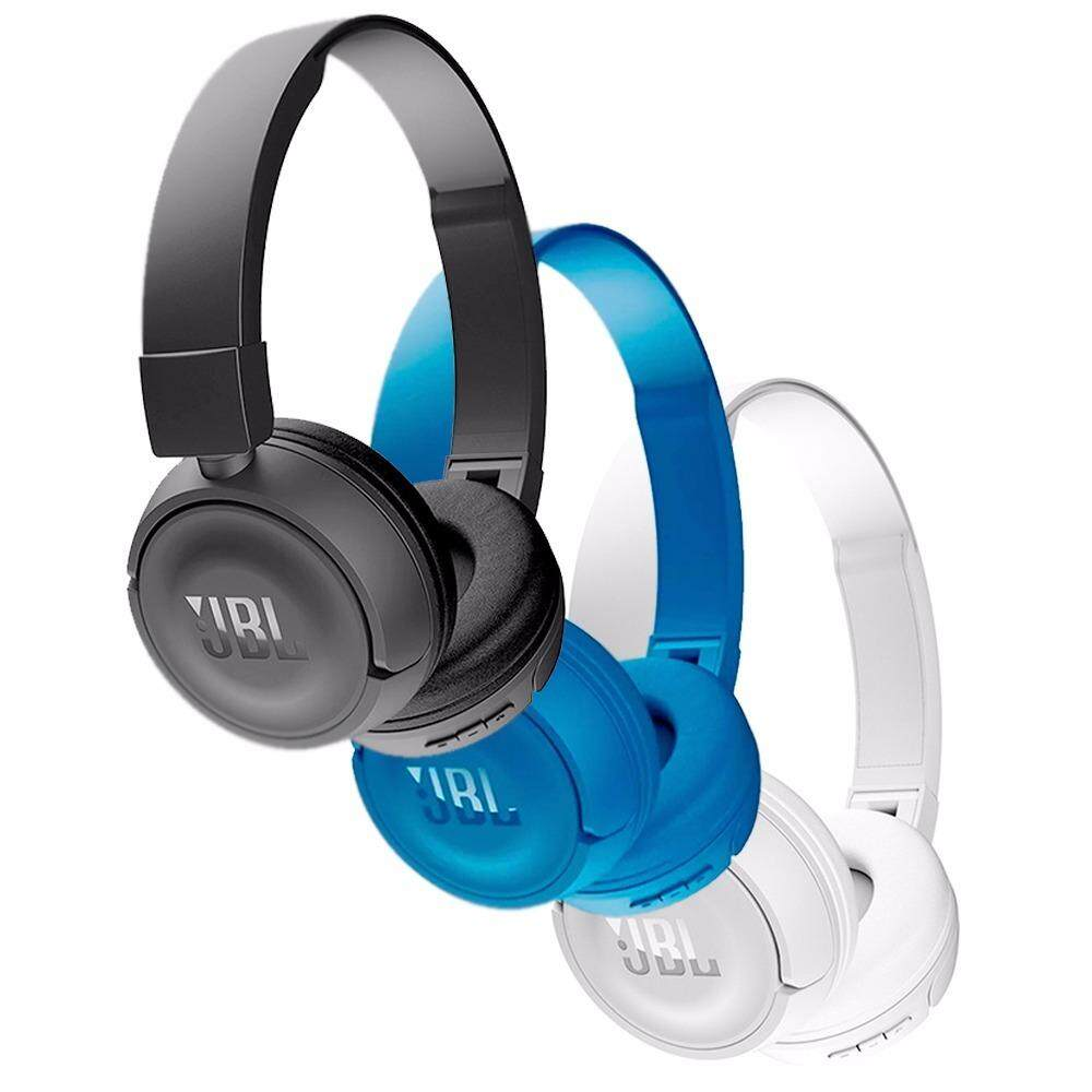 Features Jbl T450bt Wireless Bluetooth Headphones Pure Bass Sound Headphone White Flat Foldable 5