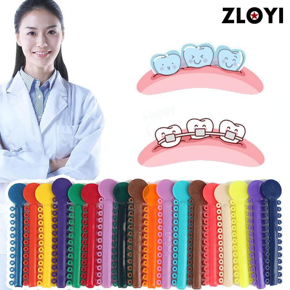 Zloyi 40pcs/lot 《high Quality》dental Ligature Tie Orthodontics Elastomeric Ligature Ties Braces Band By Zloyi.