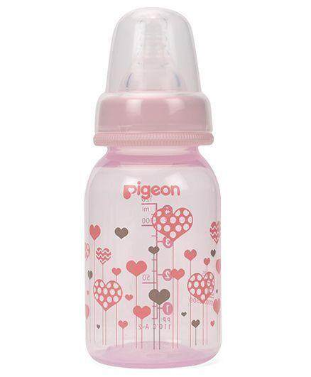 [NEW DESIGN] Pigeon Premium Clear PP Slim Neck Bottle 4oz/120ml with S Size Teat