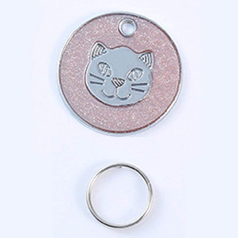 4pcs Pet Id Tag High Quality Reflective Glitter Cat & Dog Tags By Darahry.