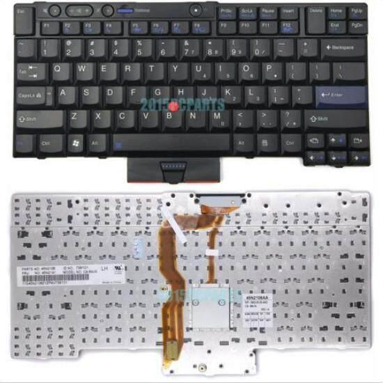 Asli Baru untuk Lenovo ThinkPad T410 T420 T510 T520 W510 W520 X220 Keyboard Kami Hitam-Internasional