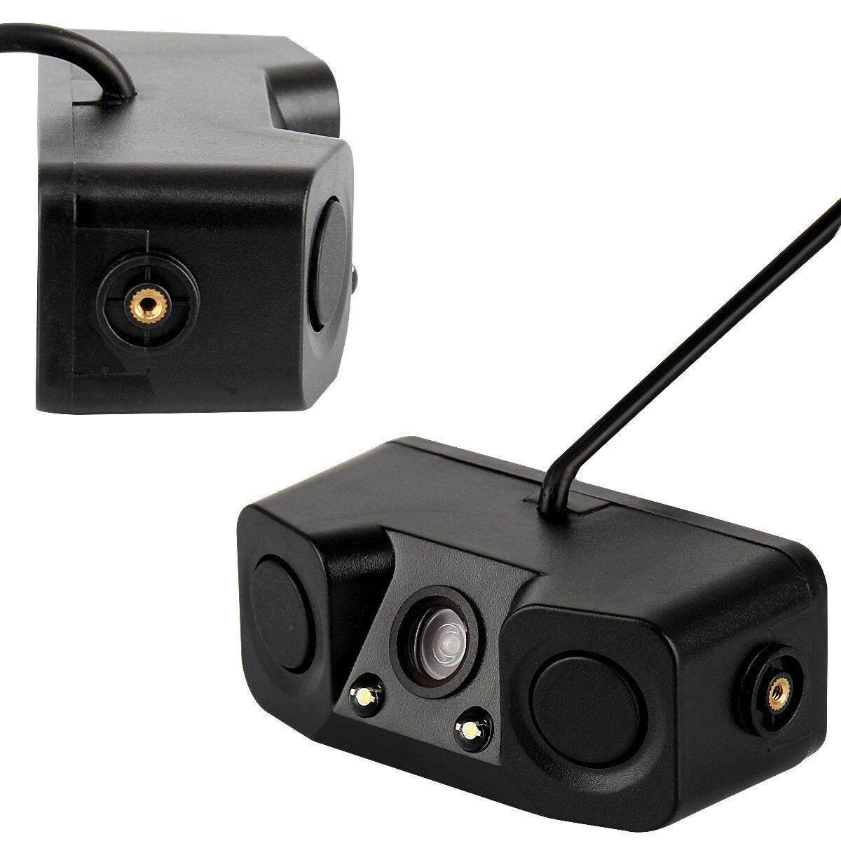 3 In 1 Tahan Air Mobil Sensor Parkir Backup Detektor Radar Mundur Belakang 170 ° Kamera By Hhhappy Store.