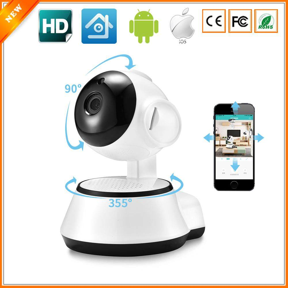 HANJIA Home Security IP Camera Wireless Smart WiFi Camera WI-FI Audio Record Surveillance Baby Monitor HD Mini CCTV Camera iCSee