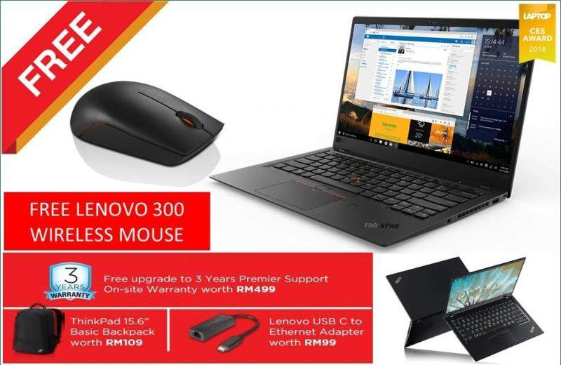 [Self Collect Available].LENOVO THINKPAD X1 CARBON (6 GEN) 20KHS01700 + BACKPACK Malaysia