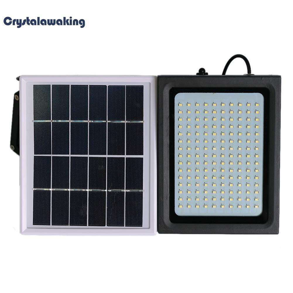150 LED Solar Flood Light PIR Motion Sensor Activated Outdoor Garden Lamp