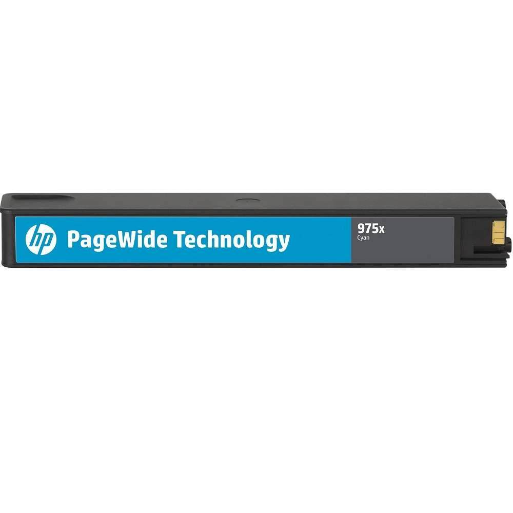 HP 975X Cyan Original PageWide Cartridge (L0S00AA)