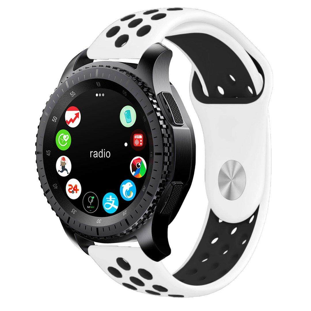 Gear S3 Band, 22mm Soft Silicone Band Replacement Strap for Samsung Gear S3 Frontier and