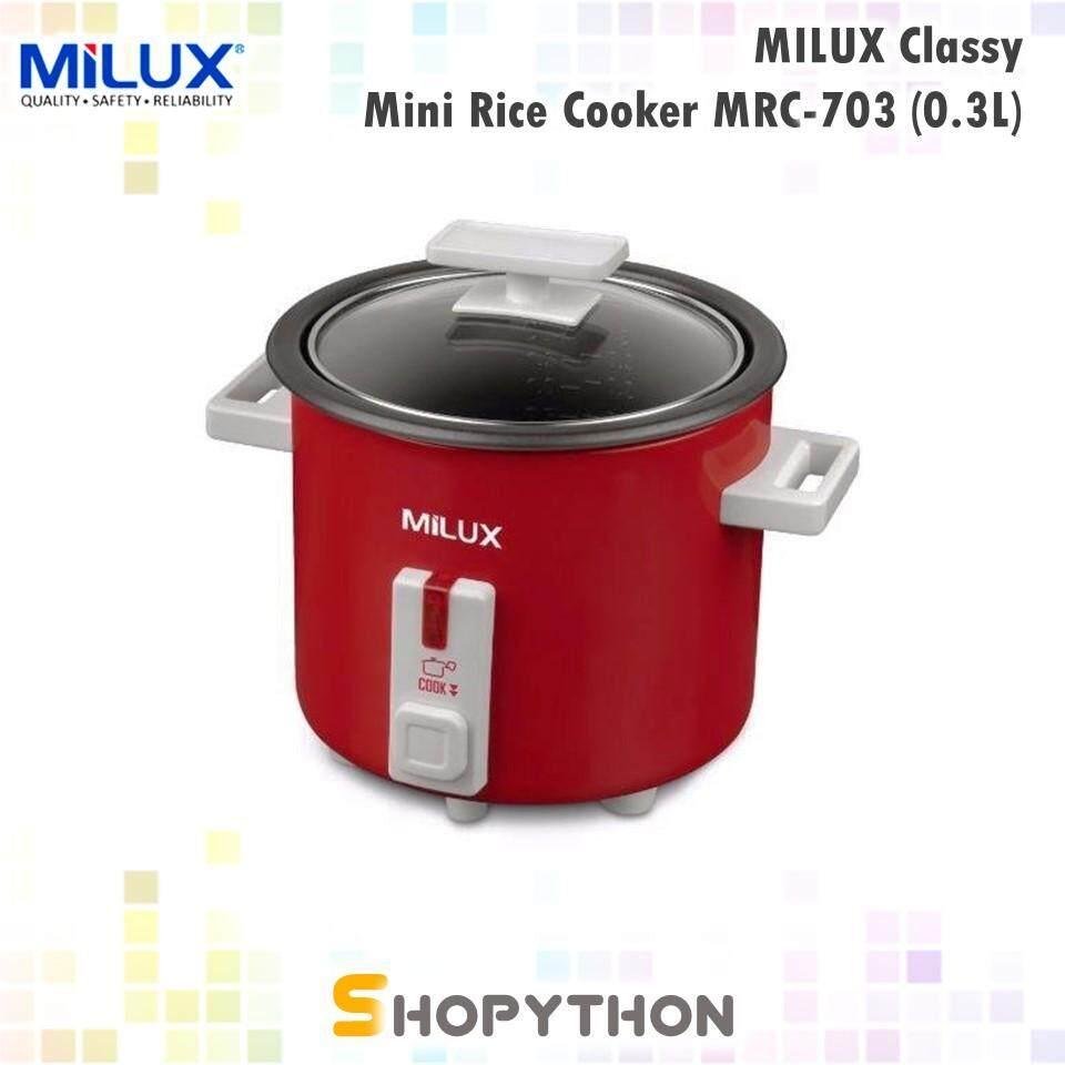 MILUX Classy Mini Rice Cooker MRC 703 03L For 1 2