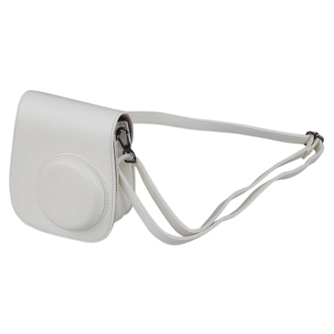 Tas Wadah Kamera Cover untuk Fujifilm Instax Mini8 Mini8s Tas Selempang Putih