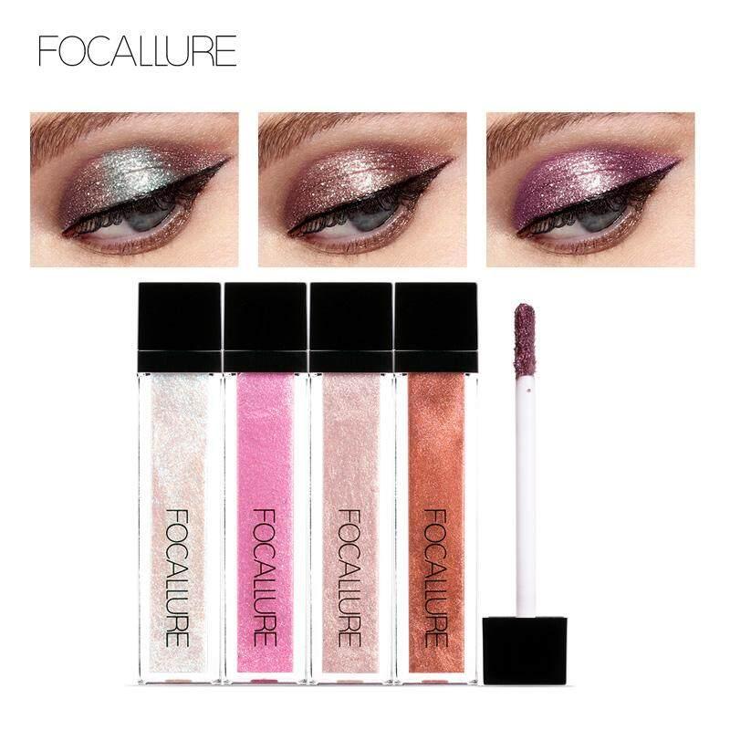 ... Focallure Glitter & Glow Liqud Eyeshadow Makeup Lasting Waterproof Eye Shadow #03 - intl ...