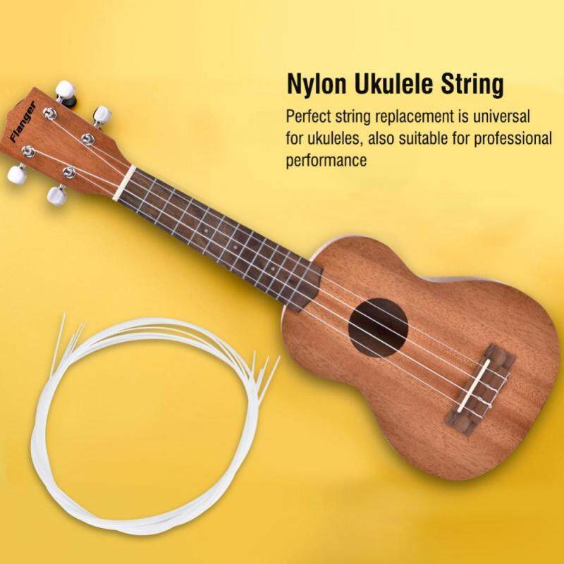 4 Pcs/Set Nylon Ukulele String Replacement Accessories for 21/23/26 Inch Ukuleles Malaysia