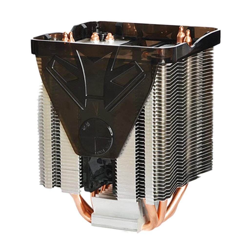 Aukey Cooler Fan Stand Case Fan Heatsink Portable Desktop Computer Silent Axial Fan Holder - intl
